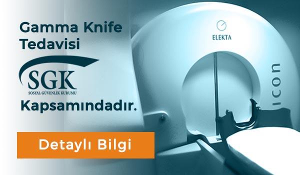 Gamma Knife SGK Kapsamındadır
